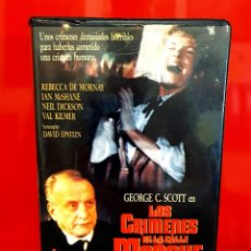 Cine: LOS CRIMENES DE LA CALLE - GEORGE C. SCOTT. Lote 289928173