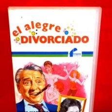 Cine: EL ALEGRE DIVORCIADO (1976) - PACO MARTÍNEZ SORIA, FLORINDA CHICO, NORMA LAZARENO. Lote 290119198