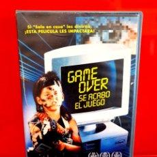 Cine: GAME OVER (SE ACABO EL JUEGO) - 1ª EDICION. Lote 290119418