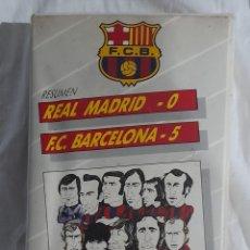 Cine: F. C. BARCELONA 5. REAL MADRID 0 LIGA 1973 / 74. VER FOTOS Y DESCRIPCIÓN.. Lote 290611253