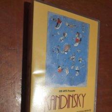 Cine: KANDINSKY. VISUAL ARTE. ANDRÉ S. LABARTHE. VHS EN BUEN ESTADO. Lote 293674668