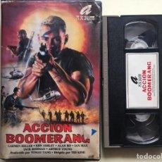 Cine: ACCION BOOMERANG - WAR, NINJAS, ARTES MARCIALES - VHS. Lote 293875128