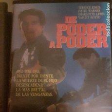 Cine: DE PODER A PODER. PELICULA VHS.. Lote 294284573