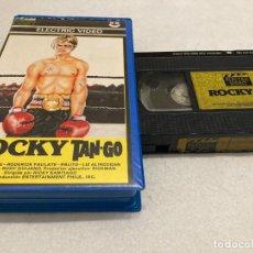 Cine: VHS ORIGINAL / ROCKY TAN-GO. Lote 294951263