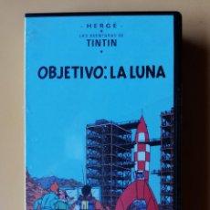Cine: OBJETIVO: LA LUNA. LAS AVENTURAS DE TINTÍN - HERGÉ. Lote 295342453