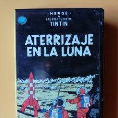 Cine: ATERRIZAJE EN LA LUNA. LAS AVENTURAS DE TINTÍN - HERGÉ. Lote 295342458