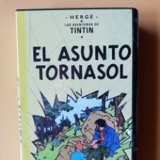 Cine: EL ASUNTO TORNASOL. LAS AVENTURAS DE TINTÍN - HERGÉ. Lote 295342463
