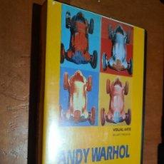 Cine: ANDY WARHOL. VISUAL ARTE. VHS. KIM EVANS. BUEN ESTADO. DIFICIL. Lote 295367018