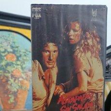 Cine: ATRAPADOS SIN SALIDA NO MERCY - RICHARD PEARCE - RICHARD GERE , KIM BASINGER - FOX 1987. Lote 295488658