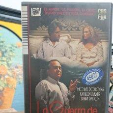 Cine: LA GUERRA DE LOS ROSE - DANNY DEVITO - MICHAEL DOUGLAS , KATHLEEN TURNER - CBS 1990. Lote 295491298