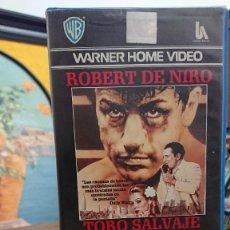 Cine: TORO SALVAJE - MARTIN SCORSESE - ROBERT DE NIRO - WARNER HOME VIDEO 1987. Lote 295500053
