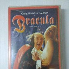 Cine: VHS/DRACULA/CONDEMOR II/NADIUSKA.. Lote 295648548