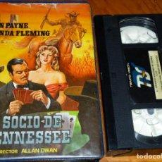 Cine: EL SOCIO DE TENNESSEE - JOHN PAYNE, RHONDA FLEMING, ALLAN DWAN - VHS. Lote 297090333