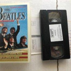 Cine: THE BEATLES LA LEYENDA QUE CAMBIO EL MUNDO 1990 VHS KREATEN. Lote 297091423
