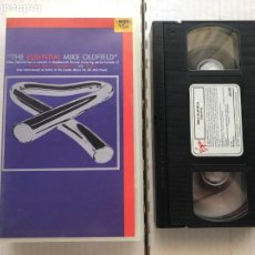 Cine: THE ESSENTIAL MIKE OLDFIELD LIVE CONCERT KNEBWORTH FESTIVAL VHS KREATEN. Lote 297092263