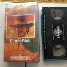 Cine: EL JINETE PALIDO CLINT EASTWOOD WESTERN VHS KREATEN. Lote 297092683
