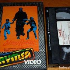 Cine: JOHNNY RATÓN - VICENTE ESCRIVÁ, ROBERT PACKER, LUIS DAVILA - RYMSA - VHS. Lote 297122968