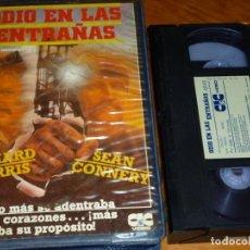 Cine: ODIO EN LAS ENTRAÑAS - RICHARD HARRIS, SEAN CONNERY - CIC - VHS. Lote 297122983