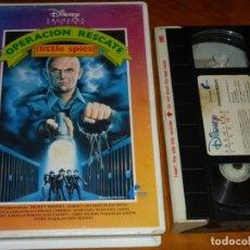 Cine: OPERACION RESCATE / LITTLE SPIES - MICKEY ROONEY, ROBERT COSTANZO, GREG BEEMAN - DISNEY - VHS. Lote 297123003