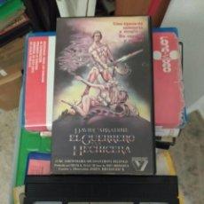 Cine: VHS- EL GUERRERO Y LA HECHICERA. VESTRON VÍDEO. DAVID CARRADINE. Lote 297144343