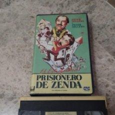Cine: VHS- EL ESTRAFALARIO PRISIONERO DE ZENDA. Lote 297165498