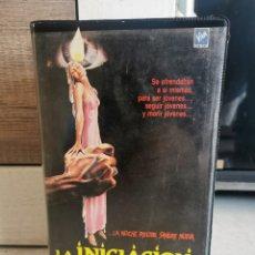Cine: LA INICIACIÓN - LARRY STEWART VHS. Lote 297168358
