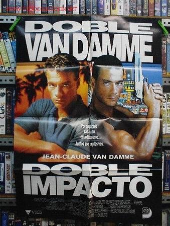 DOBLE IMPACTO (Cine - Posters y Carteles - Acción)