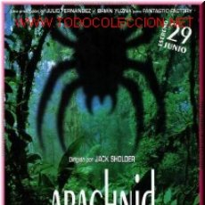 Cine: ARACHNID. Lote 4597864