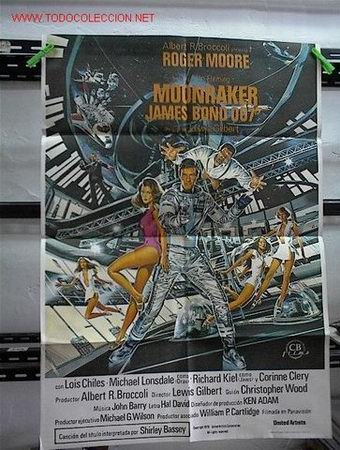 007 MOONRAKER (Cine - Posters y Carteles - Acción)