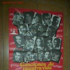 Cine: CANCIONES DE NUESTRA VIDA. Lote 7020495
