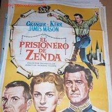 Cine: EL PRISIONERO DE ZENDA. Lote 11313775