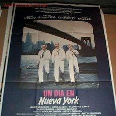 Cine: UN DÍA EN NUEVA YORK CON GENE KELLY Y FRANK SINATRA POSTER 70X100CM. Lote 99758991