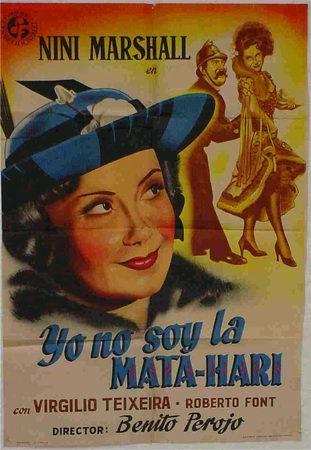 CARTEL CINE YO NO SOY LA MATA-HARI (Cine - Posters y Carteles - Aventura)