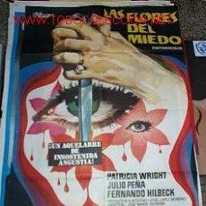 Cine: LAS FLORES DEL MIEDO. Lote 21169885