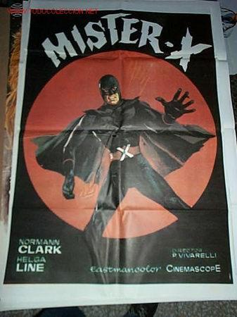 MISTER X (Cine - Posters y Carteles - Acción)