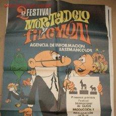 Cine: MORTADELO Y FILEMÓN 2º FESTIVAL. Lote 211448750