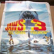 Cine: JAWS 3 EL GRAN TIBURÓN. Lote 12622637