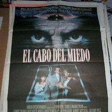 Cine: POSTER ORIGINAL DE CINE 70X100CM EL CABO DEL MIEDO. Lote 10814606