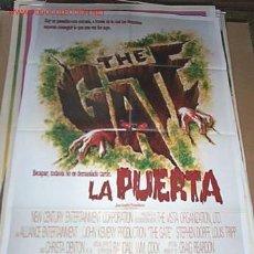 Cine: POSTER ORIGINAL 70X100CM THE GATE, LA PUERTA. Lote 149465933