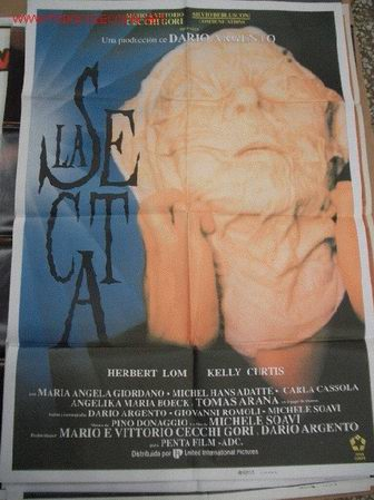 LA SECTA DE DARIO ARGENTO POSTER ORIGINAL DE 70X100CM (Cine - Posters y Carteles - Terror)