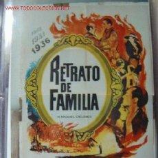 Cine: RETRATO DE FAMILIA, ANTONIO FERRANDIS, MIGUEL BOSE - AÑO 1976. Lote 288464883