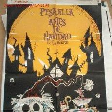 Cine: PESADILLA ANTES DE NAVIDAD DE TIM BURTON. Lote 197389275