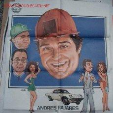 Cine: ANDRÉS PAJARES EN EL CURRANTE. Lote 10795365