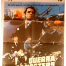 Cine: CARTEL GUERRA DE GANGSTERS . Lote 915615