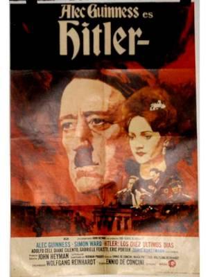 CARTEL HITLER CON ALEC GUINNESS (Cine - Posters y Carteles - Bélicas)