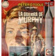 Cine: CARTEL LA GUERRA DE MURPHY CON PETER O´TOOLE. Lote 18953318