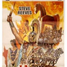 Cine: CARTEL LA GUERRA DE TROYA CON STEVE REEVES. Lote 8688830