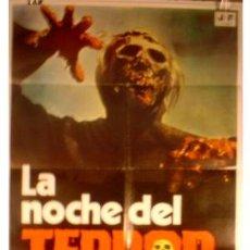 Cine: CARTEL LA NOCHE DEL TERROR. Lote 7658003