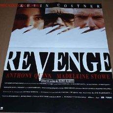 Cine: REVENGE (A.QUINN-K.COSTNER-1990). Lote 6756508