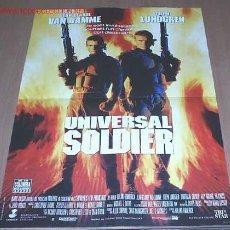 Cine: SOLDADO UNIVERSAL (VAN DAMME-1992). Lote 6756517
